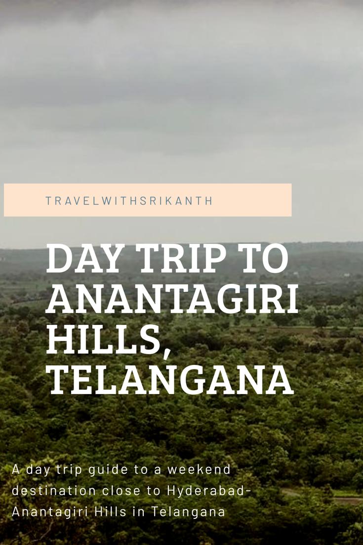 Weekend trip to Anantagiri Hills, Vikarabad