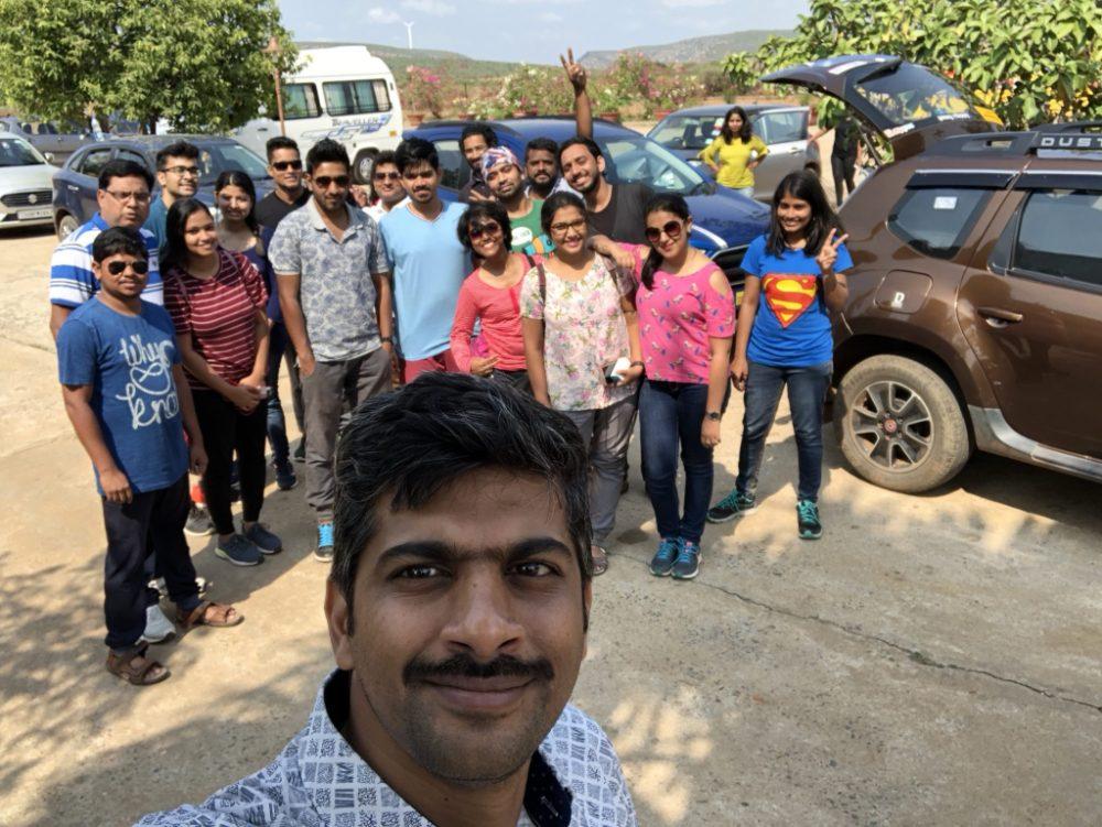 RoadtripinIndia on a trip to Gandikota