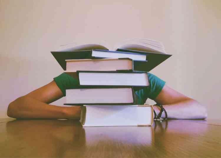 Scores  of books  to study