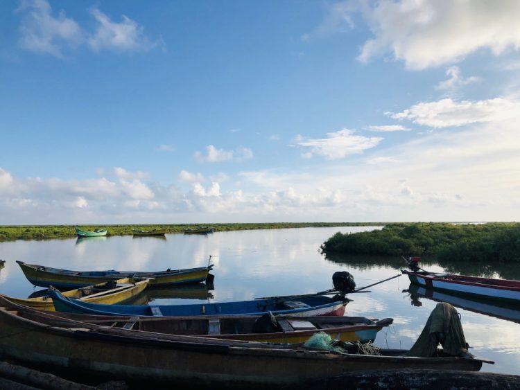 Fishing Boats, Hamsaladeevi Beach