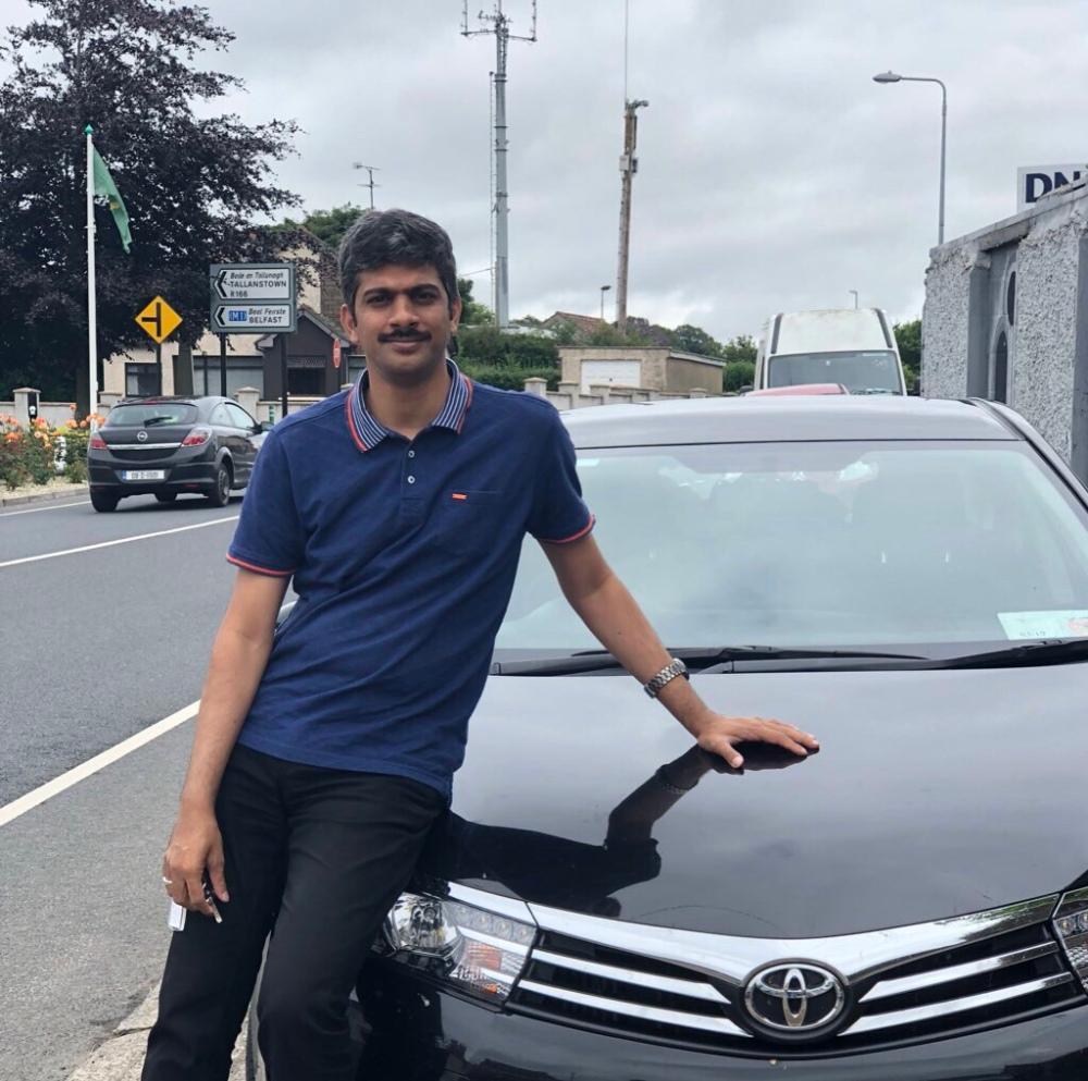 Toyota Corolla on the Roadtrip in Ireland