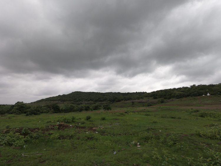 Clouds play hide n seek at Anantagiri Hills