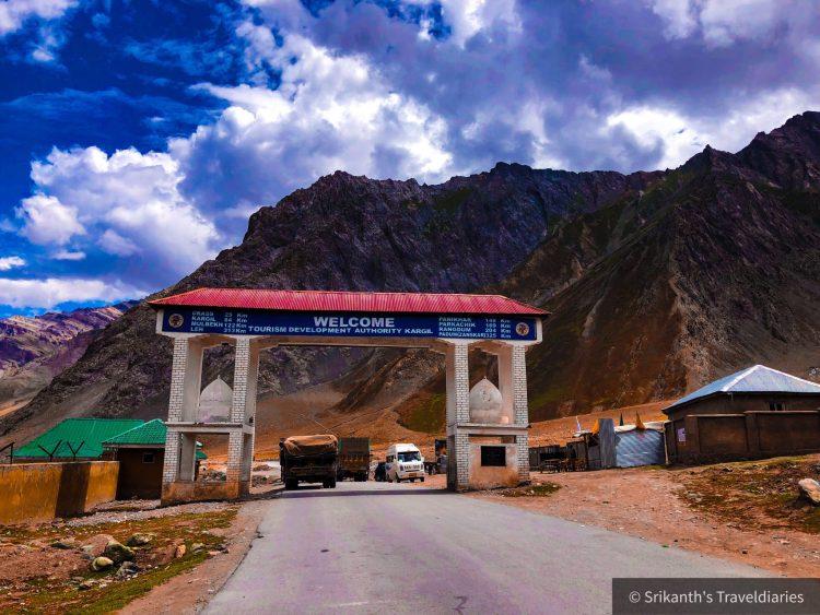 Kargil Tourism Authority enroute Ladakh Travel
